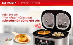 Bí quyết nấu vạn bữa ngon với nồi đôi đa năng Twin Cooker