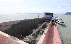 Bị phạt 300 triệu đồng vì xả bùn thải trái phép xuống vịnh Hạ Long