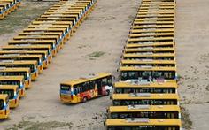 Xe buýt trợ giá Đà Nẵng tạm dừng lăn bánh từ ngày mai 10-5