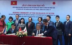 Nhật Bản tài trợ 500 tỉ đồng cho Việt Nam chống dịch COVID-19