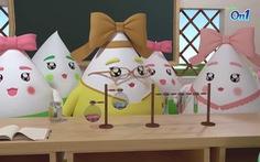 Series hoạt hình 'Những giọt nước tinh nghịch' và bài học bổ ích cho trẻ
