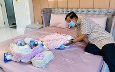 Dân mạng Campuchia thích thú hình ảnh Thủ tướng Hun Sen chăm cháu ngoại thứ 22
