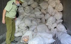 Kịp ngăn chặn 16 tấn thịt gà, vịt bốc mùi chuẩn bị bán ra thị trường