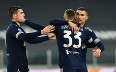 Ronaldo chuộc lỗi với bàn thắng phút 90+2 giúp Juve giành 3 điểm