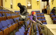 Người cầm dây nhựa 'chuyên trói tay' vào nhà Quốc hội Mỹ bị bắt