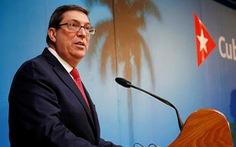 Bị đưa vào danh sách 'tài trợ khủng bố', Cuba chỉ trích Mỹ 'cơ hội' và 'bất chấp đạo lý'