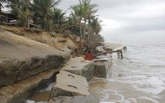 Sạt lở bờ biển Đà Nẵng 'vẫn trong tầm kiểm soát'