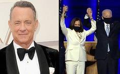 Tom Hanks dẫn chương trình đặc biệt trong ngày tổng thống nhậm chức