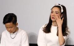 Nhã Phương khóc khi họp báo giới thiệu phim 'Song song'