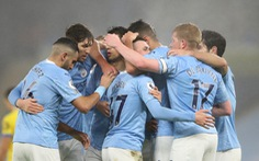 Đá bại Brighton, Man City gia tăng sức ép lên Liverpool và Man Utd