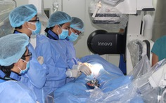 Thông tim can thiệp tại bệnh viện nhi đồng TP Cần Thơ