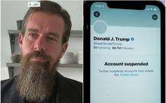 CEO Twitter bảo vệ lệnh cấm ông Trump, thừa nhận là ''có thể tạo ra tiền lệ nguy hiểm'