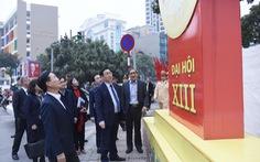 Ông Võ Văn Thưởng: 'Trang trí chào mừng Đại hội XIII của Đảng phải đẹp'