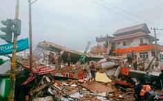 Động đất mạnh ở Indonesia, ít nhất 34 người chết, hơn 600 người bị thương