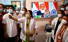 Ấn Độ bắt đầu chiến dịch tiêm chủng 'lớn nhất thế giới' chống COVID-19