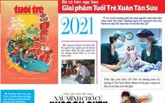 Đã có trên sạp báo Giai phẩm Tuổi Trẻ Xuân - Tân Sửu an vui