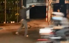 Cảnh sát nổ súng trấn áp nhóm 'quái xế' trên đường Phạm Thế Hiển