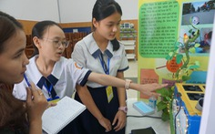 Bất ngờ với những phát minh khoa học của học sinh Sài Gòn