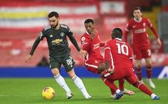 Liverpool và Man Utd bất phân thắng bại tại Anfield