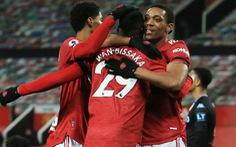 Đánh bại Aston Villa 2-1, Man United tạm 'bắt kịp' Liverpool