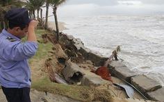Bờ biển Đà Nẵng có bãi tắm đẹp nhất hành tinh bị sạt lở nghiêm trọng