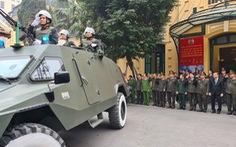 Công an Hà Nội huy động 100% quân số bảo vệ Đại hội Đảng lần thứ XIII