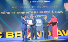 30 doanh nghiệp ở TP.HCM nhận danh hiệu Thương hiệu Vàng