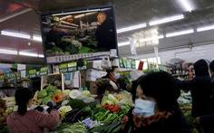Giá rau, thịt ở Bắc Kinh tăng vọt khi người Trung Quốc chuẩn bị đón tết xa quê