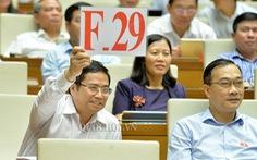 Đảng viên tự ứng cử ĐBQH phải được sự đồng ý của tổ chức Đảng