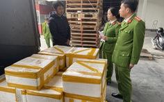 Bắt xe tải chở 2,5 tạ cá khoai ướp formol chống thối chuẩn bị bán ra chợ