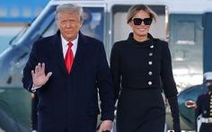 Cựu đệ nhất phu nhân Melania Trump không buồn khi chia tay Nhà Trắng