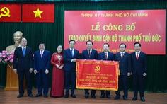 Ông Nguyễn Văn Nên: Lấy TP Thủ Đức làm mẫu một số việc cho toàn TP.HCM