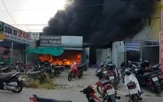Hỏa hoạn thiêu rụi tiệm sửa xe và 24 xe gắn máy ở Phú Quốc