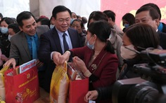 Hà Nội tổ chức 'Tết sum vầy', hơn 60 tỉ hỗ trợ người lao động khó khăn
