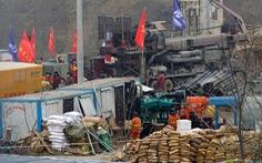 Trung Quốc giải cứu được 11 trong 22 thợ mỏ kẹt dưới mỏ vàng