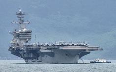 Trung Quốc nói Mỹ 'thị uy' vì đưa tàu sân bay đến Biển Đông
