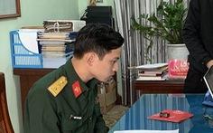Thanh niên giả danh thượng úy quân đội để lừa bán xe máy