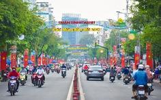 TP.HCM rợp cờ đỏ sao vàng chào mừng Đại hội lần thứ XIII của Đảng
