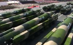 Trung Quốc đưa bệ phóng tên lửa đạn đạo DF-26 tới gần Nhật, Ấn để 'huấn luyện'