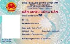 Thẻ căn cước công dân gắn chip chính thức có hình dáng cụ thể ra sao?