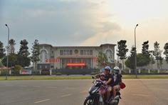 Trụ sở UBND thành phố Thủ Đức ở phường Thạnh Mỹ Lợi