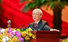 Chùm ảnh lãnh đạo Đảng, Nhà nước và các đại biểu tại phiên khai mạc Đại hội Đảng XIII