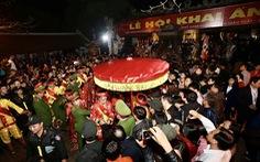 Nam Định thông báo dừng tổ chức lễ khai ấn đền Trần và chợ Viềng xuân 2021