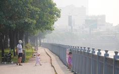 TP.HCM lại sương mù dày đặc