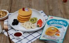 Tự làm bữa sáng dinh dưỡng tiện lợi với bột bánh rán pha sẵn