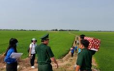 Thăm và tặng quà cho 177 chốt phòng chống dịch ở An Giang