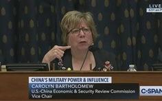 Phó chủ tịch Ủy ban Quốc hội Mỹ: 'Trung Quốc nói với thế giới dựa trên nói dối và một nửa sự thật'