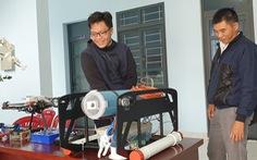 Học sinh làm robot nghiên cứu địa chất thủy văn