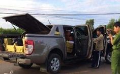 Xe Ford Ranger chứa hơn 400kg pháo nổ