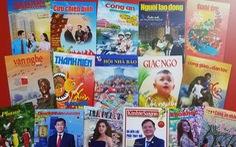 Trao giải bìa báo xuân và khai trương sạp báo từ thiện tại Đường sách